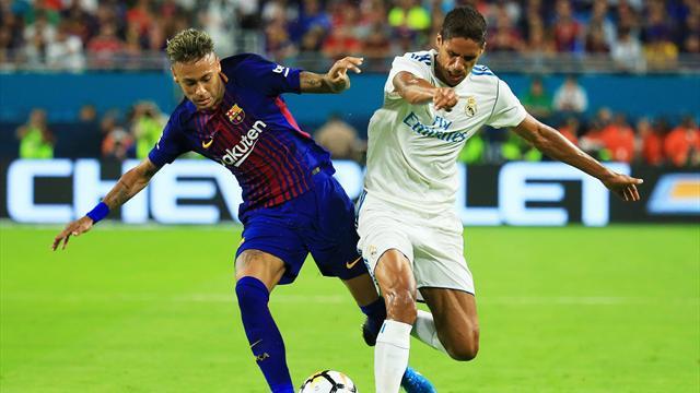 Messi fait le show, Neymar passeur et le Barça empoche le premier Clasico de la saison