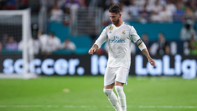 Sergio Ramos, entre dos y tres semanas de baja