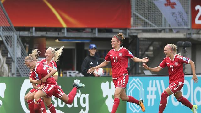C'est la grosse perf' de l'Euro : le Danemark sort l'Allemagne, sextuple tenante du titre !