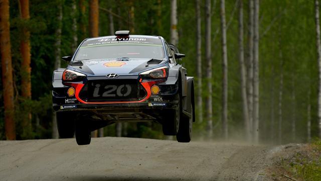 Tanak retakes Rally Germany lead