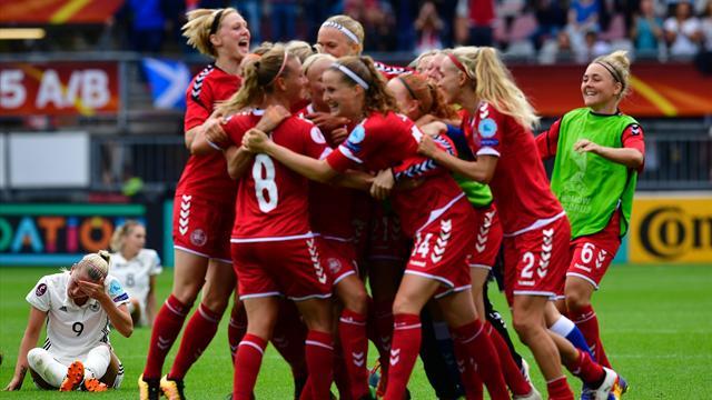 De l'audace et beaucoup de réussite : comment le Danemark a sorti l'ogre allemand