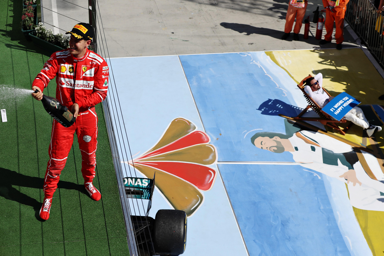 Sebastian Vettel (Ferrari) et Fernando Alonso (McLaren) au Grand Prix de Hongrie 2017