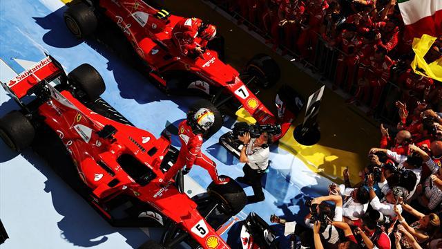 Ferrari, su la testa! A Budapest trionfo di squadra, Kimi si guadagna il rinnovo