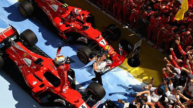 Vettel grand vainqueur, Hamilton grand seigneur