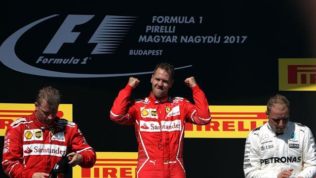 La partie de yo-yo continue : Vettel reprend 14 points d'avance sur Hamilton