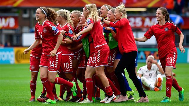 Comment le Danemark a sorti l'ogre allemand : le résumé du match