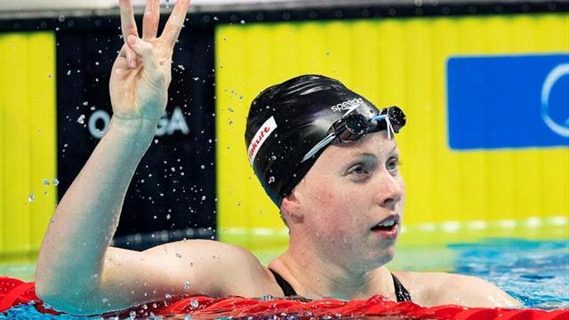 Lilly King, récord mundial en los 50 braza (29:40)
