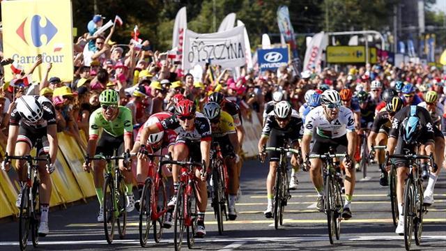 Sagan reaparece tras el Tour: triunfo y liderato en Polonia