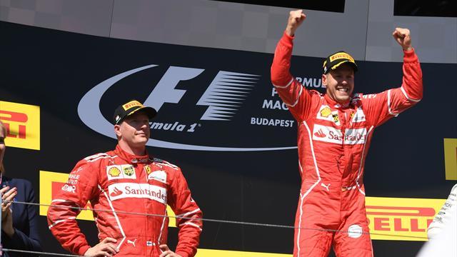 Die Tops und Flops von Ungarn: Vettel siegt, Ricciardo fliegt