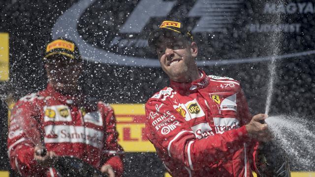 """""""Kimi war schneller"""": Teamorder-Diskussionen bei Vettel-Sieg"""