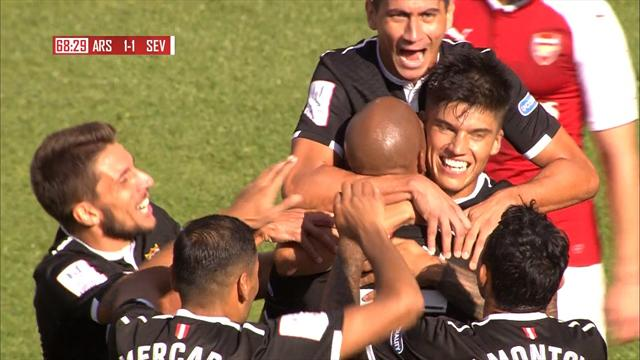 Highlights: Sevilla beat Arsenal 2-1 in Emirates Cup
