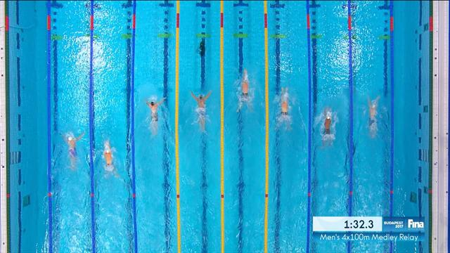 Peaty heroics not enough as USA pip Britain to 4x100m medley relay gold