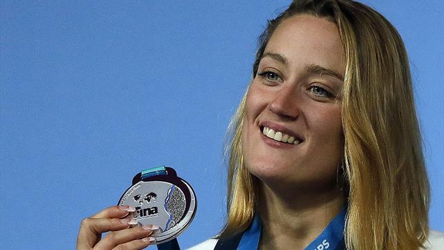 Mireia Belmonte alcanza la plata en 400 estilos y suma su tercera medalla en Budapest