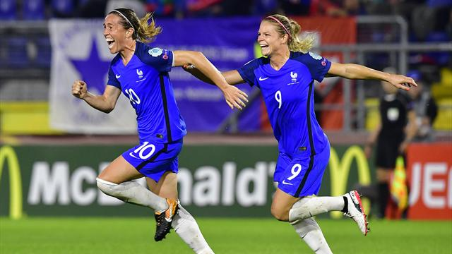 Regardez le quart de finale France - Angleterre en DIRECT sur Eurosport Player