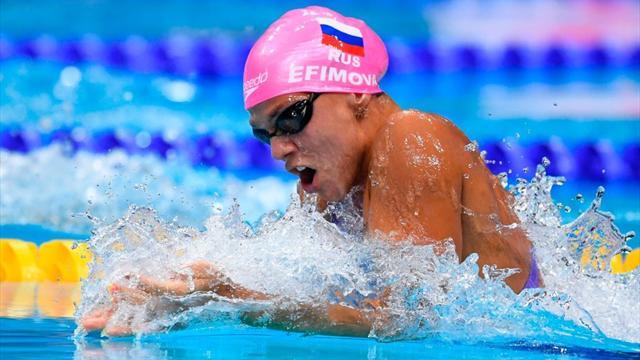 Les Russes intouchables, les Françaises s'offent le record national