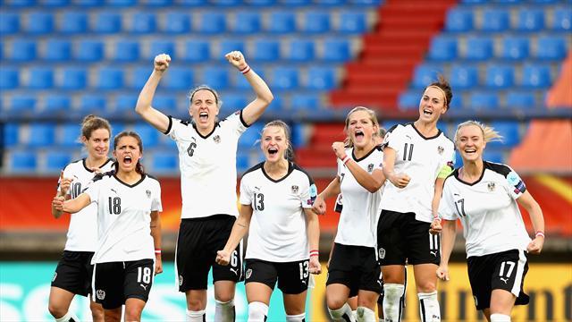 Mit Video | Österreich und England erreichen EM-Halbfinale