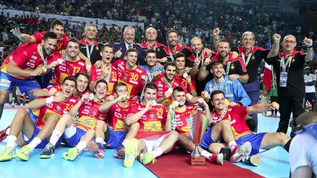 Dinamarca-España: Los Hispanos Júnior se cuelgan un oro mundial histórico (38-39)