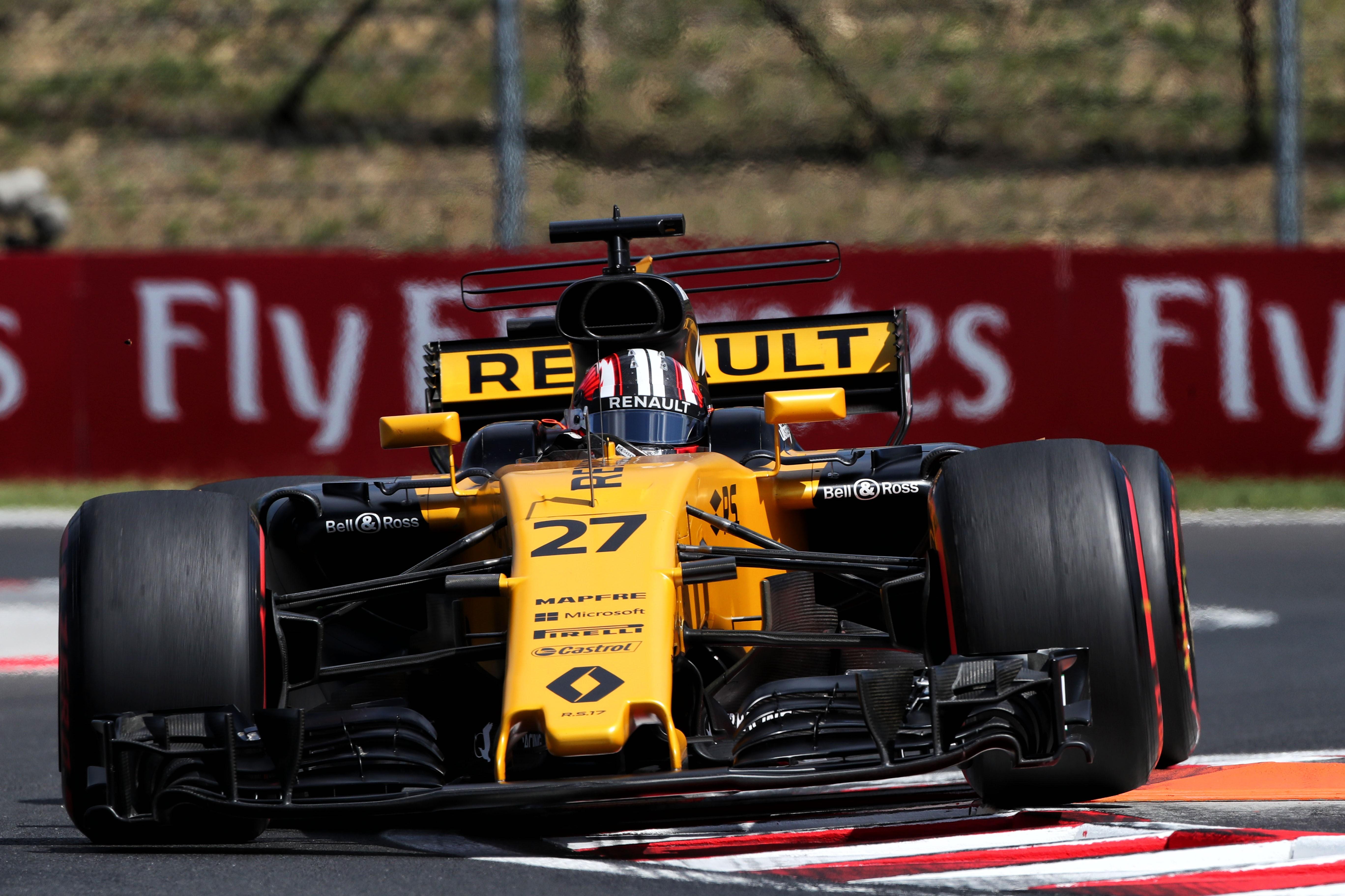 Nico Hülkenberg (Renault) au Grand Prix de Hongrie 2017