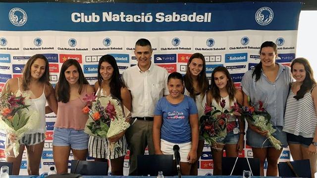 El CN Sabadell concentra la mitad de las medallas españolas del Mundial