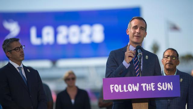 Paris ve Los Angeles'tan 2024-2028 anlaşması