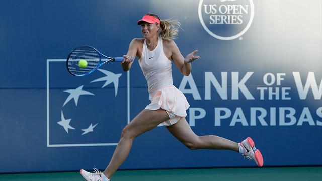 Maria Sharapova abandonó por lesión el torneo WTA de Stanford