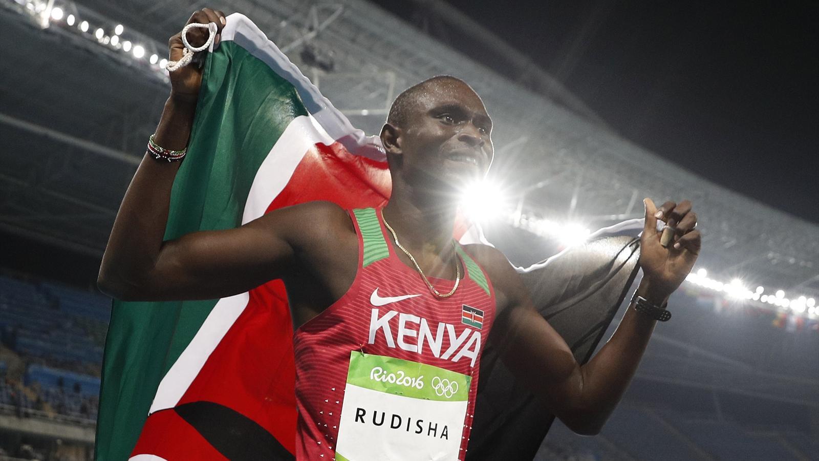 Kenya's Rudisha aims to regain fitness, defend Olympic title