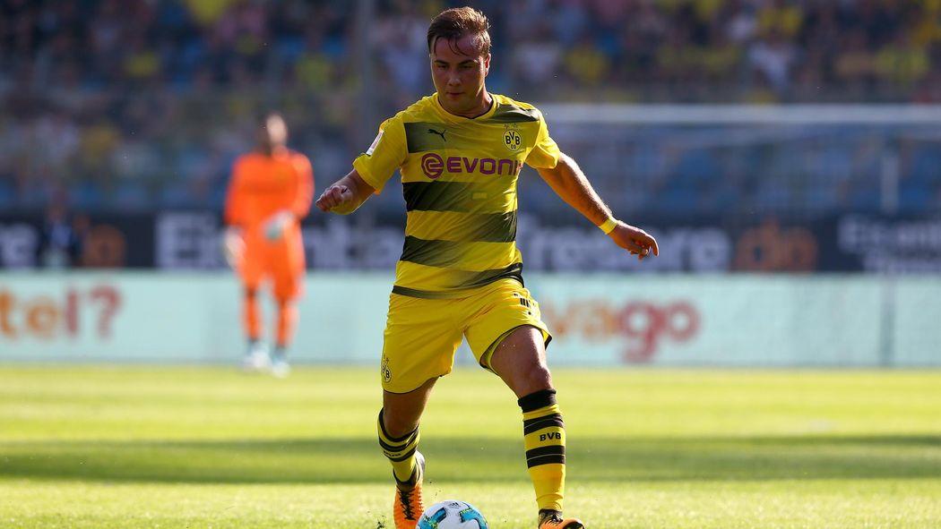 36c7da9a3edc69 Mario Götze ist bei Borussia Dortmund im Aufwind - Bundesliga 2017-2018 -  Fußball - Eurosport Deutschland