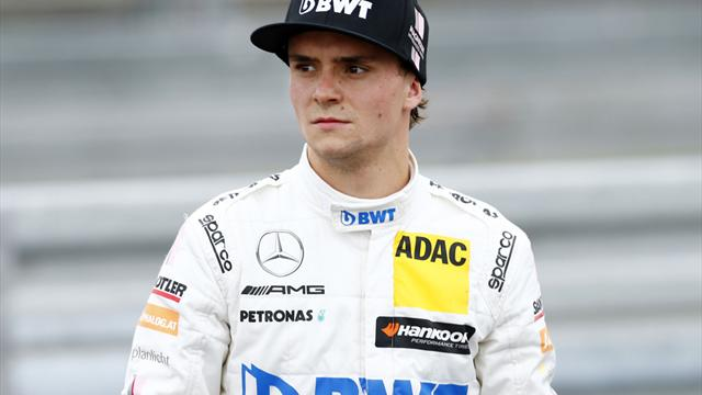 DTM-Pilot Auer beim Formel-1-Test in Budapest Neunter
