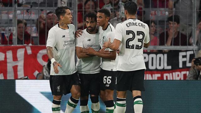«Ливерпуль» разгромил «Баварию» ивышел вфинал предсезонного турнира вМюнхене
