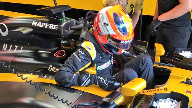 Comeback: Kubica fährt Testrunden auf dem Hungaroring