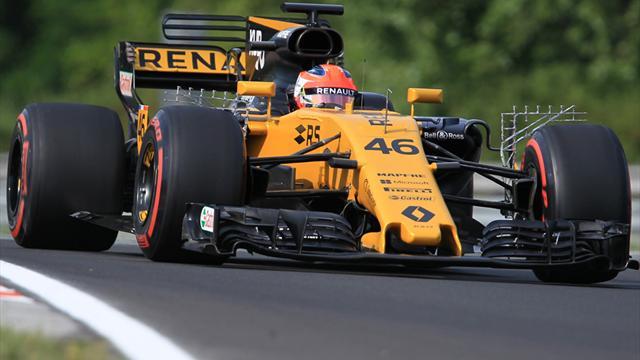 Kubica überzeugt beim Formel-1-Test in Budapest