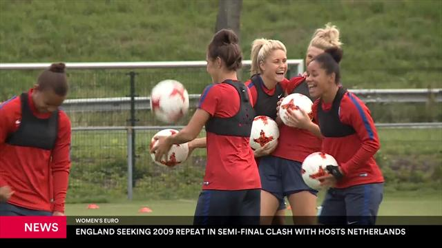 England's Lionesses hoping lightning strikes twice against Netherlands