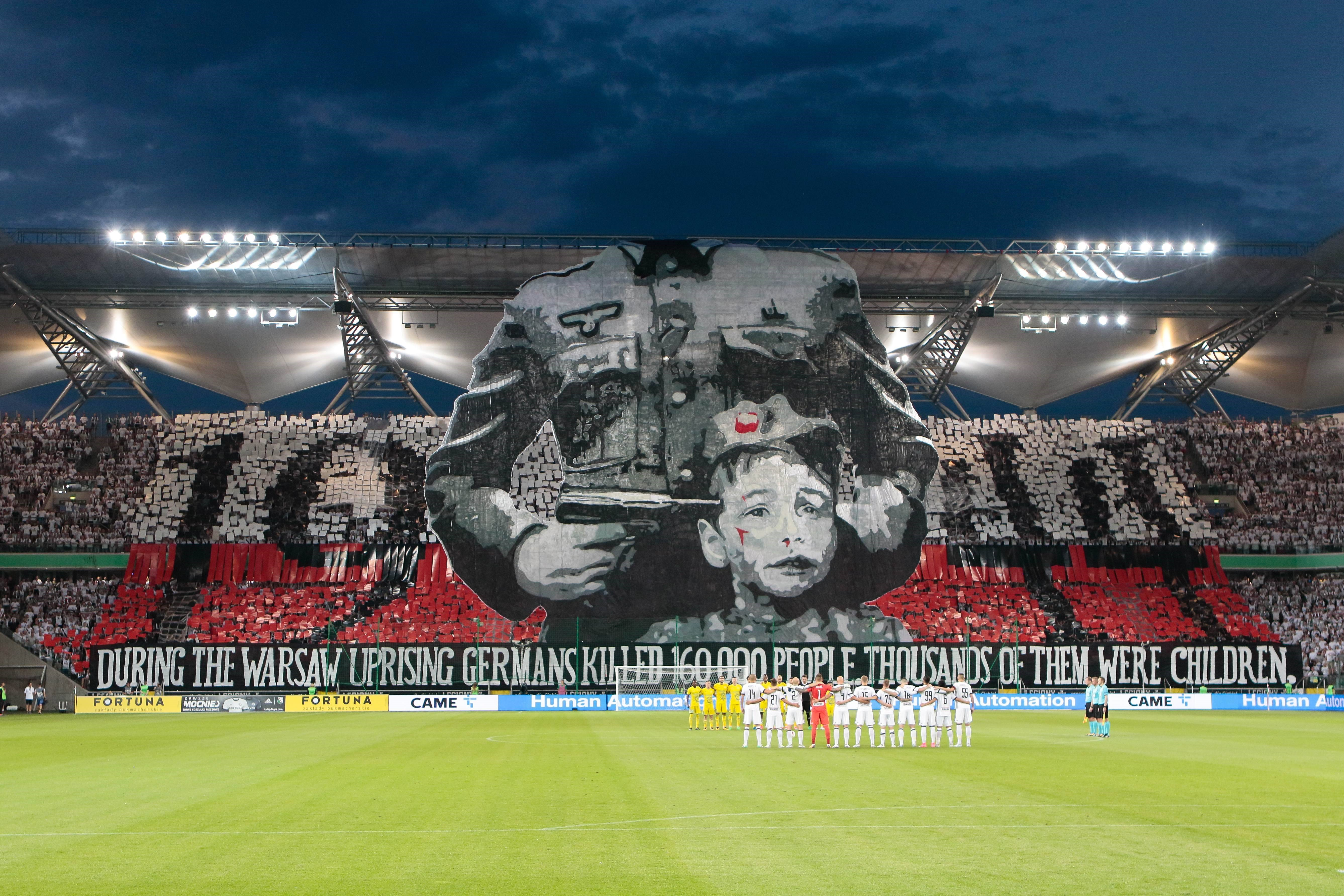 Legia Ultras made greatest banner ever – PUB NOT IN POL