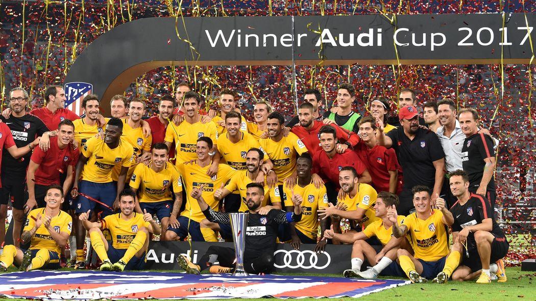 Výsledek obrázku pro audi cup 2017