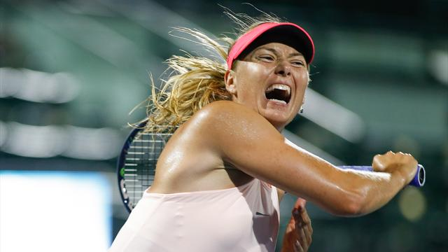 Sharapova withdraws from Stanford Classic with injury
