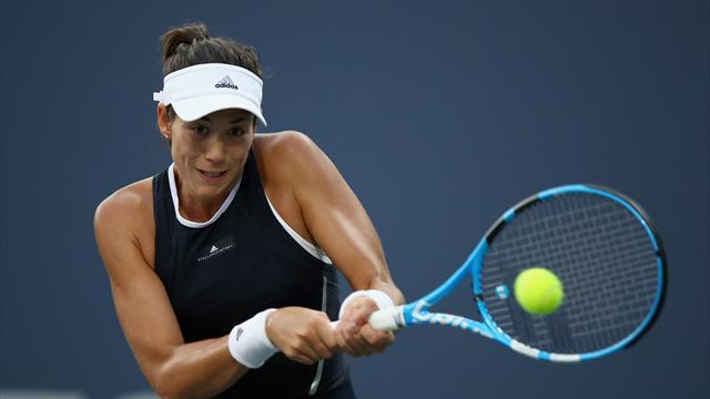 Muguruza cruises, Kvitova eliminated at Stanford Classic