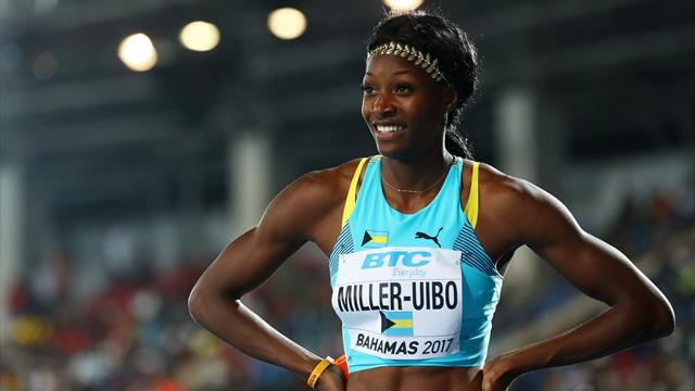 Miller-Uibo tenait l'or sur 400m, avant de se blesser juste avant l'arrivée