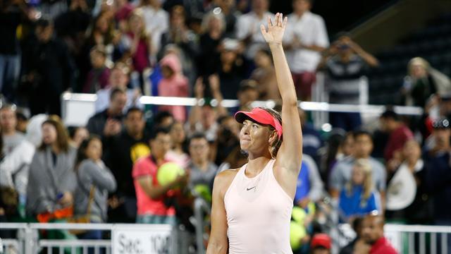 Шарапова снялась с турнира в Торонто из-за травмы