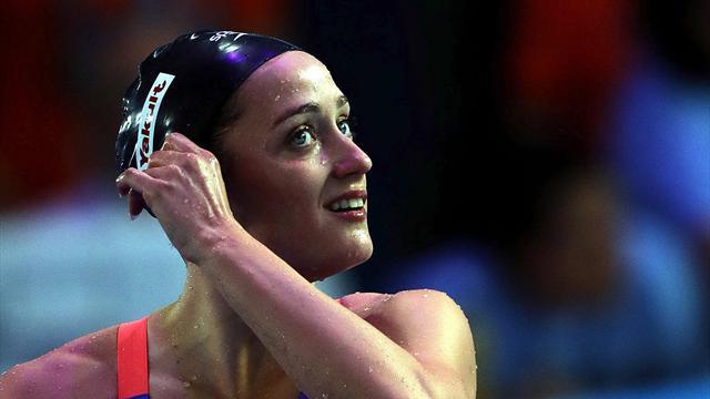 Бельмонте побила рекорд мира на дистанции 400 метров комплексным плаванием