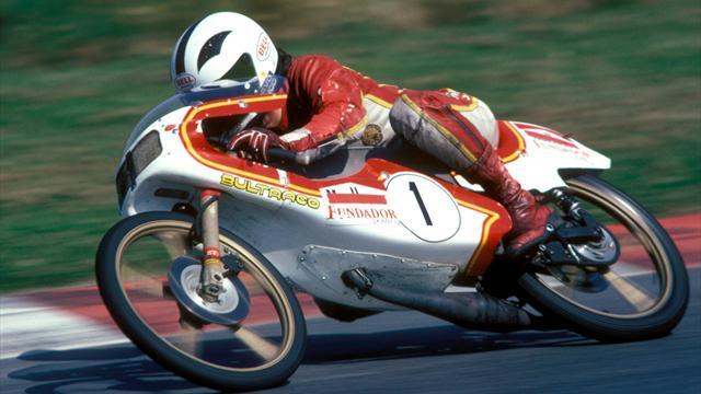 El palmarés y las motos más recordadas de Ángel Nieto