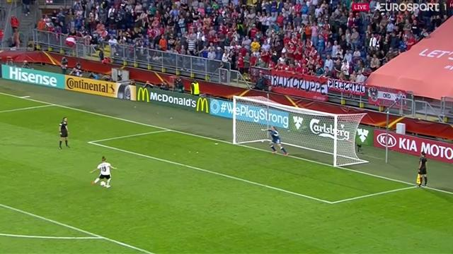 VÍDEO: Dinamarca jugará su primera final tras ganar a Austria por penaltis