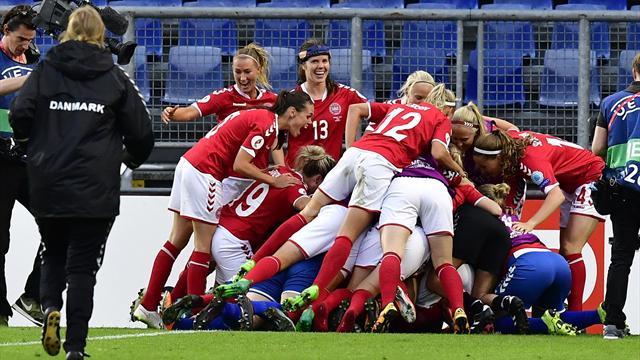 Le Danemark s'offre l'Autriche aux tirs au but et disputera sa première finale