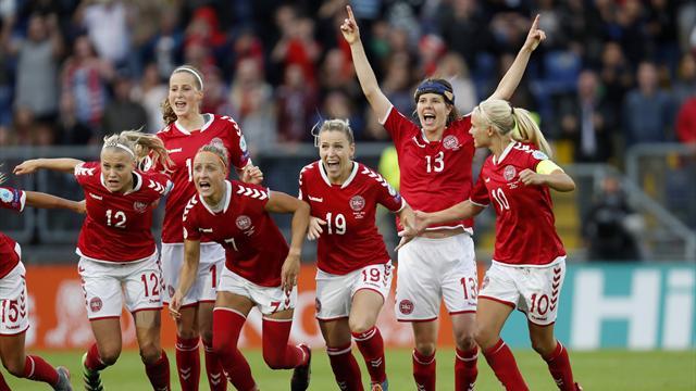 Denmark reach Euro 2017 final after Austria collapse in penalty shootout
