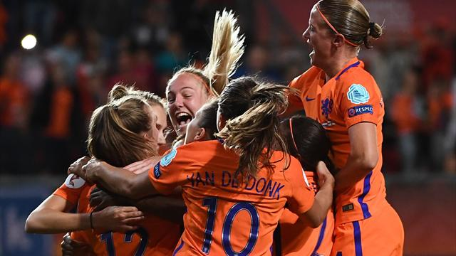 Il n'y a pas eu photo lors de la 2e demie : les Pays-Bas étaient au-dessus de l'Angleterre