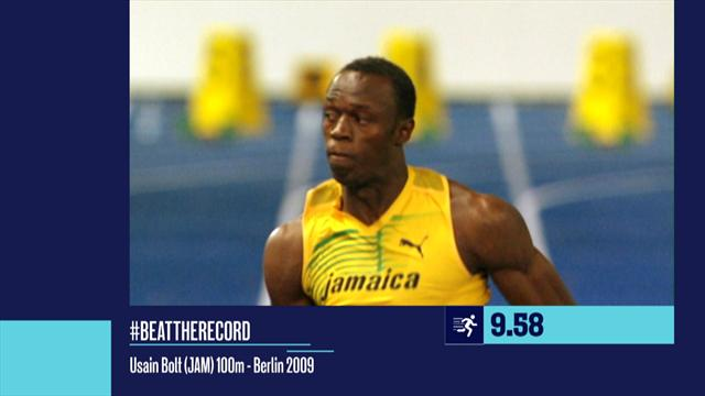 #BEATTHERECORD - We remember Bolt's amazing run from 2009