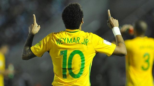 Neymar convoqué avec le Brésil pour affronter l'Équateur et la Colombie