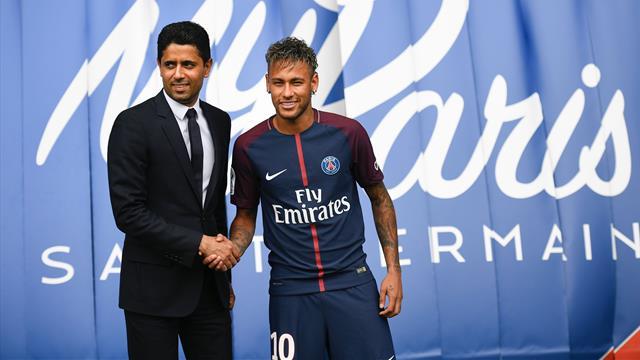 """Al Khelaifi, presidente del PSG, tras pagar 222 millones: """"Neymar no es caro"""""""