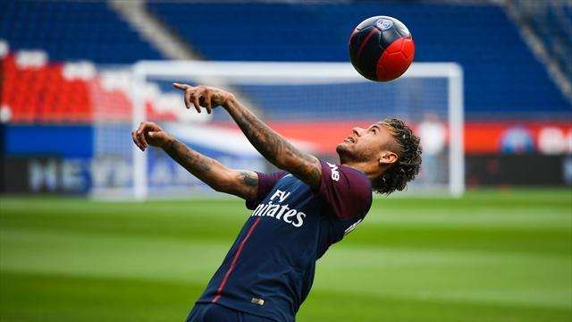 Première pour Neymar, dans le groupe du PSG pour le déplacement à Guingamp
