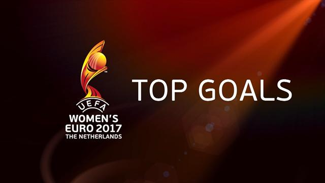 Top 10 goals from the European Championships