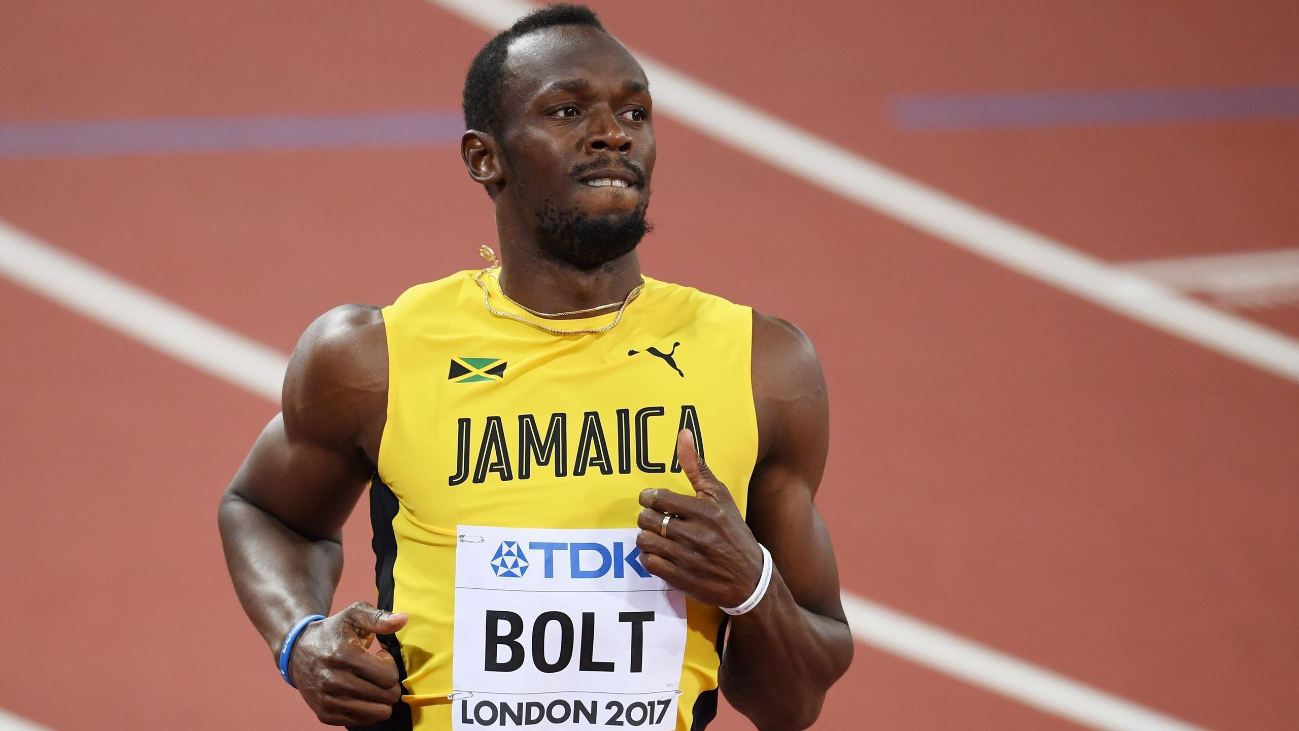 Usain Bolt A Lissue Des Series Du 100m Aux Mondiaux De Londres 2017Getty Images